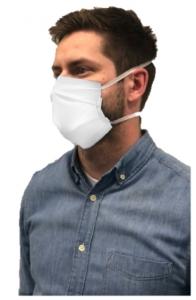Wiederverwendbare textile Mund- und Nasen-Maske