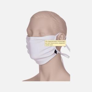 Wiederverwendbarer Mund- und Nasenschutz TG, Bindeband