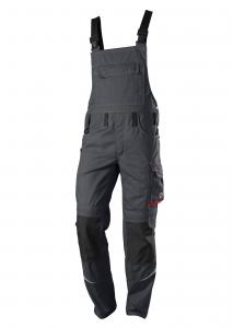 Latzhose COMFORT PLUS, mit Knietasche und Reflexblitzen