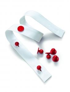 Kugelknopfleiste für 6 Knopflöcher 2 Stck./Jacke, BP