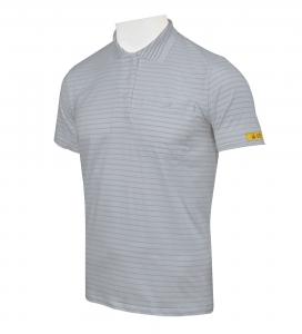 ESD Damen-Polo-Shirt CONDUCTEX Cotton Knit, kurzarm